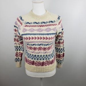 Vintage Fotrama alpaca wool pullover sweater small